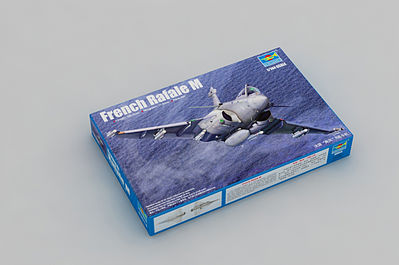 Trumpeter French Rafale M Fighter Aircraft -- Plastic Model Airplane Kit -- 1/144 Scale -- #3914