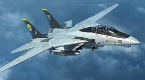 Trumpeter F-14D Tomcat Fighter Plastic Model Airplane Kit 1/144 Scale #3919
