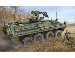 Trumpeter M1131 Stryker Fire Support Vehicle Plastic Model Military Kit 1/35 Scale #398