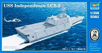Trumpeter USS Independence LCS-2 Littoral Combat Ship Plastic Model Military Ship 1/350 Scale #4548