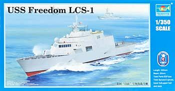 Trumpeter USS Freedom LCS-1 Lottoral Combat Ship Plastic Model Military Ship 1/350 Scale #4549