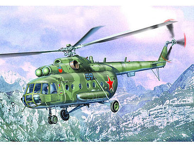 Trumpeter Mil Mi17 Hip-H Russian Helicopter -- Plastic Model Helicopter -- 1/35 Scale -- #5102