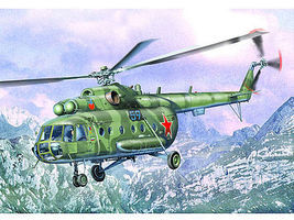 Trumpeter Mil Mi17 Hip-H Russian Helicopter Plastic Model Helicopter 1/35 Scale #5102