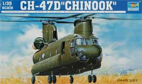 Trumpeter CH-47D Chinook Plastic Model Helicopter Kit 1/35 Scale #5105