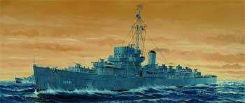 Trumpeter USS England DE635 Buckley Class Destroyer Plastic Model Military Ship 1/350 Scale #5305