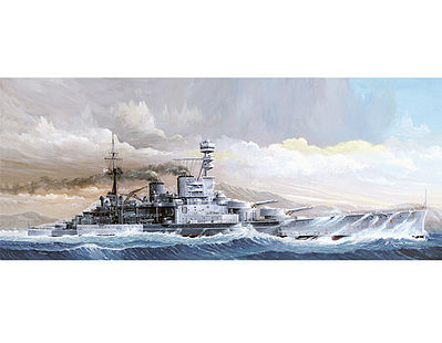 Trumpeter HMS Repulse WWII British Battle Cruiser 1941 Plastic Model Military Ship 1/350 Scale #5312