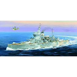 Trumpeter HMS Warspite British Battleship Plastic Model Military Ship 1/350 Scale #5325