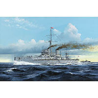 Trumpeter HMS Dreadnought WWI British Battleship 1907 Plastic Model Military Ship 1/350 Scale #5328