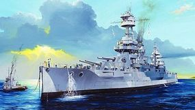 Trumpeter USS New York BB-34 Battleship Plastic Model Military Ship Kit 1/350 Scale #5339
