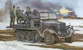 Trumpeter German SdKfz 6/2 Halftrack with 3.7CM Flak 37 Gun Plastic Model Kit 1/35 Scale #5532