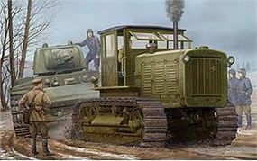 Trumpeter Russian ChTZ S-65 Tractor with Cab Plastic Model Military Vehicle 1/35 Scale #5539