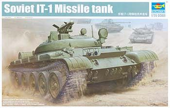 Trumpeter Soviet IT1 Missile Tank -- Plastic Model Military Vehicle -- 1/35 Scale -- #5541