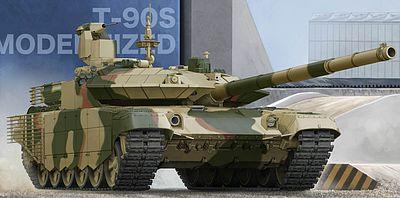 ca2e617c44a7 Trumpeter Russian T-90S Modernized Main Battle Tank Plastic Model Military  Vehicle 1 35 Scale  5549.