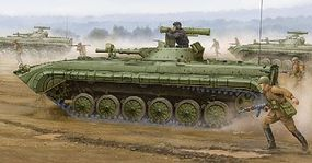 Trumpeter Soviet BMP-1P Infantry Fighting Vehicle Plastic Model Military Kit 1/35 Scale #5556