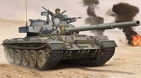 Trumpeter Israeli Tiran-6 Main Battle Tank Plastic Model Military Vehicle 1/35 Scale #5576