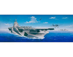 Trumpeter USS Ticonderoga CV14 Aircraft Carrier Plastic Model Military Ship 1/350 Scale #5609