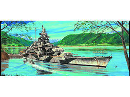 Trumpeter German Tirpitz Battleship 1943 Plastic Model Military Ship 1/700 Scale #5712