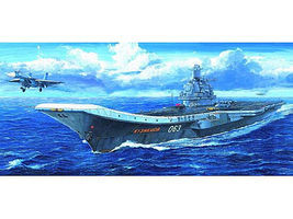 Trumpeter Admiral Kuznetsov Russian Aircraft Carrier Plastic Model Military Ship 1/700 Scale #5713