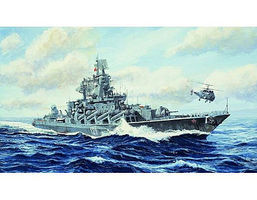 Trumpeter Moskva Russian Navy Slava Class Cruiser Plastic Model Military Ship 1/700 Scale #5720