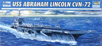 Trumpeter USS Abraham Lincoln CVN72 Aircraft Carrier Plastic Model Military Ship 1/700 Scale #5732