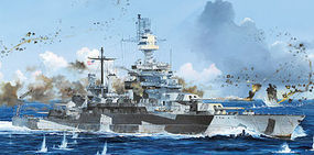 Trumpeter USS Colorado BB-45 Battleship 1944 Plastic Model Military Ship 1/700 Scale #5768
