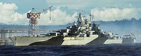 Trumpeter USS Tennessee BB43 Battleship 1944 Plastic Model Military Ship Kit 1/700 Scale #5782