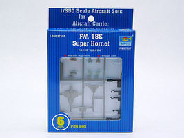 Trumpeter F/A-18E Super Hornet Plastic Model Aircraft Accessory 1/350 Scale #6221