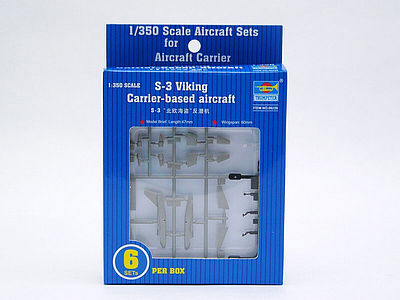 Trumpeter S-3B Viking Plastic Model Aircraft Accessory 1/350 Scale #6226