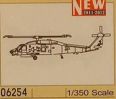 Trumpeter SH-60K Sea Hawk Plastic Model Helicopter 1/350 Scale #6254