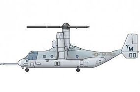 Trumpeter MV-22 Osprey V/STOL Plastic Model Helicopter Kit 1/350 Scale #6258