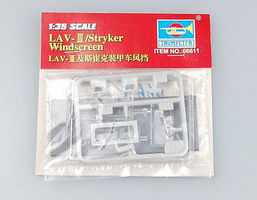 Trumpeter LAV-III Stryker Windscreens Plastic Model Vehicle Accessory 1/35 Scale #6611