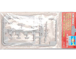M242 Bushmaster 25mm Chain Gun & M240 7.62cm Machine Gun Plastic Model Kit 1/35 #6614