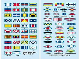 Trumpeter USS Missouri Signal Flags for Kit #3705 Plastic Model Ship Accessory 1/200 Scale #6630