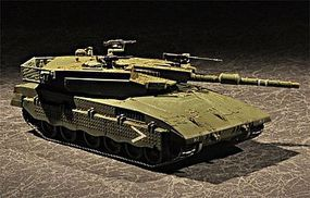 Trumpeter Israeli Merkava Mk III Baz Main Battle Tank Plastic Model Military Vehicle 1/72 Scale #7104