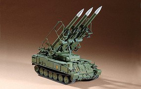 Trumpeter Russian SAM6 Anti-Aircraft Missile Plastic Model Military Vehicle Kit 1/72 Scale #7109