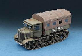 Trumpeter Soviet Voroshilovets Heavy Artillery Tractor Plastic Model Military Vehicle Kit 1/72 #7110