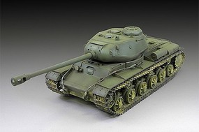 Trumpeter Soviet KV122 Heavy Tank (New Variant) Plastic Model Military Vehicle Kit 1/72 Scale #7128