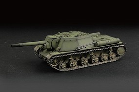 Trumpeter Soviet Su152 Self-Propelled Heavy Howitzer Early Version Plastic Model Tank Kit 1/72 #7129