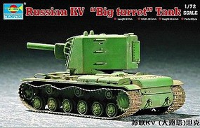 Trumpeter RUSSIAN KV BIG TURRET 1-72