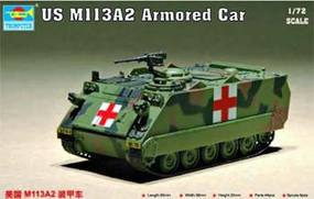 Trumpeter US M113A2 Armored Personnel Carrier Plastic Model Military Vehicle 1/72 Scale #7239