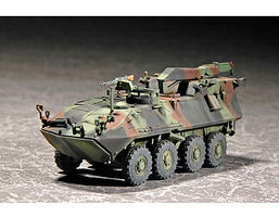 Trumpeter USMC LAV-R Light Armored Recovery Vehicle Plastic Model Military Vehicle 1/72 Scale #7269