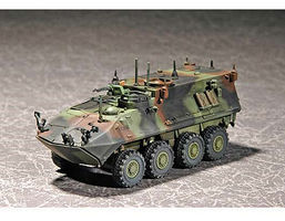 Trumpeter USMC LAV-C2 Light Armored Command & Control Vehicle Plastic Model Kit 1/72 Scale #7270