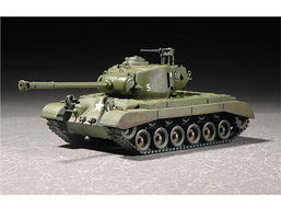 Trumpeter US M26A1 Pershing Heavy Tank Plastic Model Military Vehicle 1/72 Scale #7286