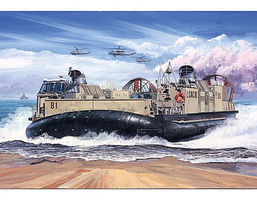 Trumpeter USMC Landing Craft/Air Cushion (LCAC) Plastic Model Military Ship 1/72 Scale #7302