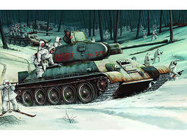 Trumpeter Russian T34/76 Mod 1942 Tank Plastic Model Military Vehicle 1/16 Scale #905