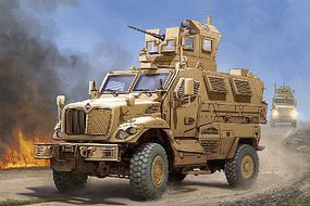 Trumpeter US M-ATV MRAP MaxxPro Vehicle Plastic Model Military Vehicle 1/16 Scale #931