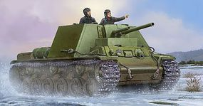 Trumpeter Soviet KV-7 Mod 1941 Tank Plastic Model Military Vehicle Kit 1/35 Scale #9503