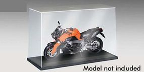 Trumpeter Showcase for 1/12 Motorcycle with Black Base Plastic Model Display Case #9804