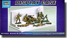 Trumpeter Step Showcase for 1/64 Autos, 1/32 Figures & 1/87 Tanks Plastic Model Display Case #9810