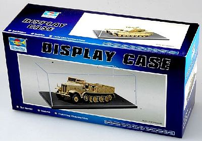 Trumpeter Showcase for 1/43, Small 1/35 & Large 1/72 Military -- Plastic Model Display Case -- #9815